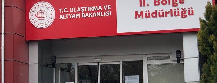 Ulaştırma, Denizcilik ve haberleşme Bakanlığı II. Bölge Müdürlüğü is one of ANKARA :)).