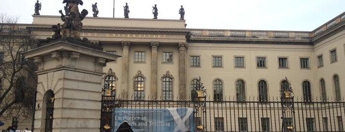 Humboldt-Universität zu Berlin is one of Deutschland | Sehenswürdigkeiten & mehr.