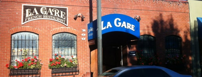 La Gare Restaurant is one of Eco Eating North Bay.