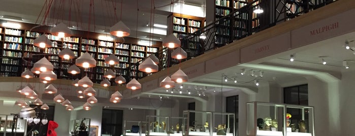 Wellcome Collection Reading Room is one of Tempat yang Disukai Peter.