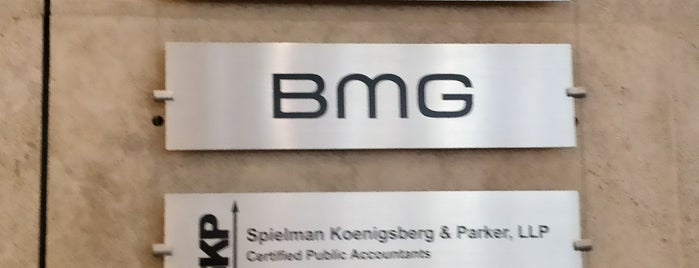 BMG is one of NYC - SPOTZ.
