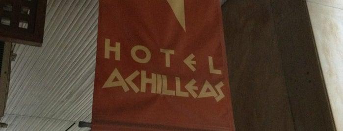 Achilleas Hotel is one of Lugares favoritos de Allan.