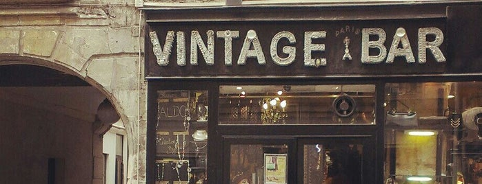 Vintage Bar is one of Paris.