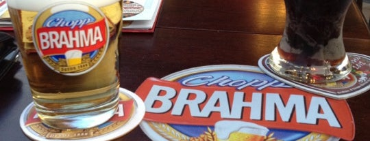 Bar Brahma is one of Locais curtidos por Anandha.