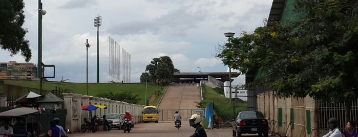 Phnom Penh Olympic Stadium is one of Phnom Penh 101.