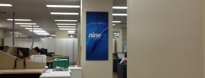 Powered by Nine is one of out of town.
