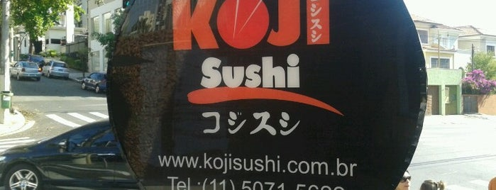 Koji Sushi is one of comidinha!.
