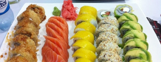 Niu Sushi is one of Lieux qui ont plu à Antonia.