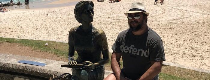 Estátua de Clarice Lispector is one of Rio de Janeiro 2016.