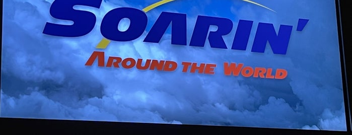 Soarin' Around the World is one of Disney.