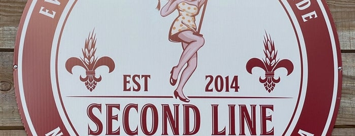 Second Line Brewing is one of New Orleans.