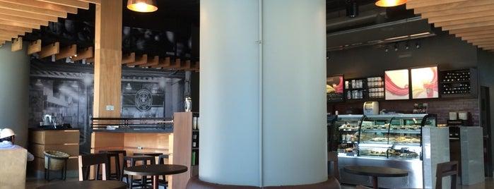 Starbucks is one of Santiago de Chile.