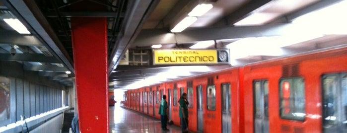 Paradero Metro Politécnico is one of Lugares favoritos de Jose.