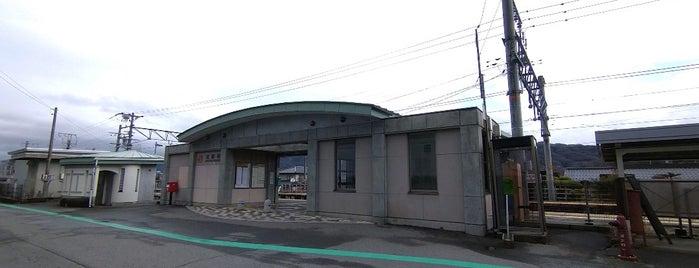 北殿駅 is one of JR 고신에쓰지방역 (JR 甲信越地方の駅).