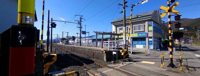 宮木駅 is one of JR 고신에쓰지방역 (JR 甲信越地方の駅).