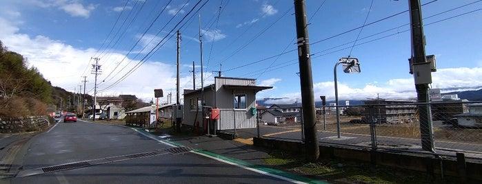 下島駅 is one of JR 고신에쓰지방역 (JR 甲信越地方の駅).