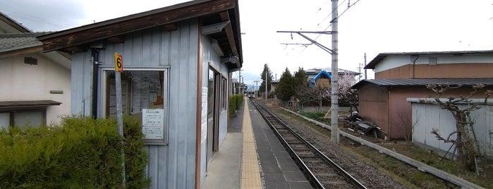 北細野駅 is one of JR 고신에쓰지방역 (JR 甲信越地方の駅).