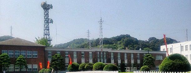 海上自衛隊 舞鶴地方総監部 (舞鶴地方隊) is one of Lugares favoritos de Shigeo.