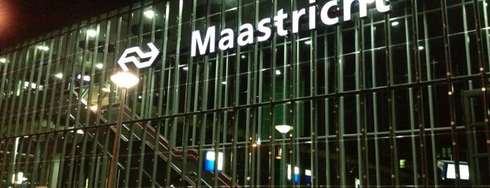 Station Maastricht is one of Orte, die Thomas gefallen.