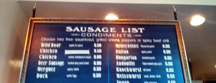 Rosamunde Sausage Grill is one of R: SF.