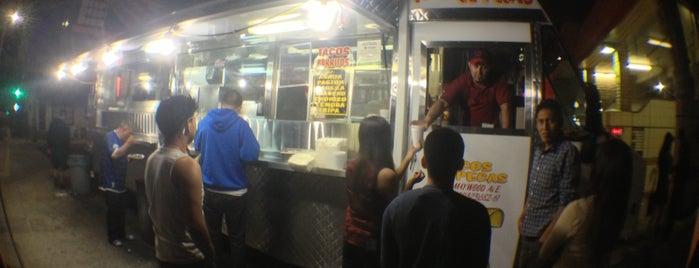 Tacos El Pecas is one of LA Quick Eats.