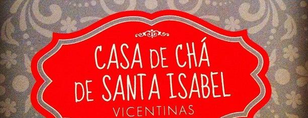 Casa de Chá de Santa Isabel is one of Lisboa.