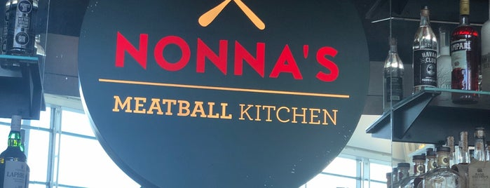Nonna's Meatball Kitchen is one of Tempat yang Disimpan Lizzie.