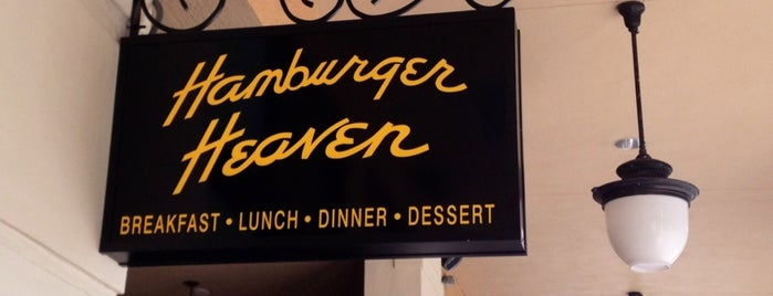Hamburger Heaven is one of My Favorite Restaurants.
