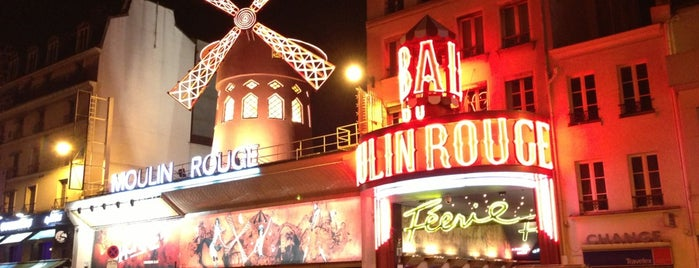 Moulin Rouge is one of Paris, France.
