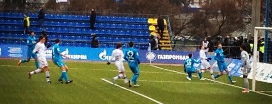 Малая спортивная арена «Петровский» is one of Lieux sauvegardés par ILya.