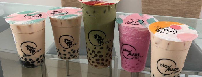 Playmade by 丸作 is one of Micheenli Guide: Popular/New bubble tea, Singapore.