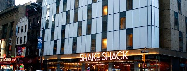 "Shake Shack is one of My ""Bucket list""."