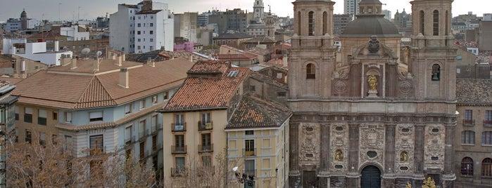 Iglesia San Cayetano is one of Edificios religiosos de Zaragoza.