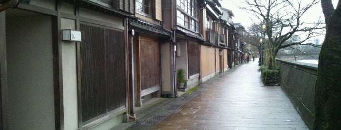 主計町茶屋街 is one of Ishikawa.