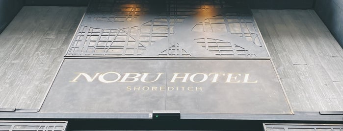 Nobu Hotel is one of London I.