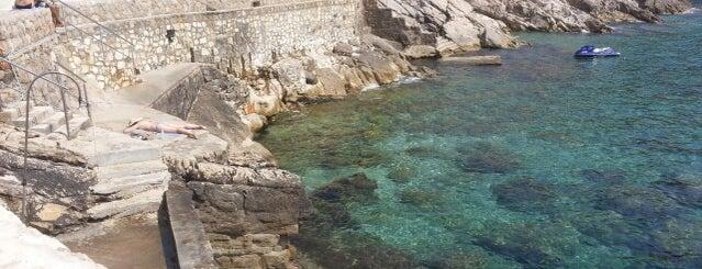 Rixos Hotel Beach Dubrovnik is one of Lugares favoritos de Natasha.