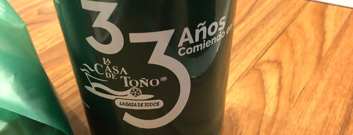 La Casa de Toño is one of สถานที่ที่ Sergio ถูกใจ.