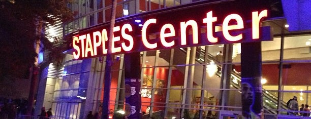 STAPLES Center is one of Alicia's Top 200 Places Conquered & <3.