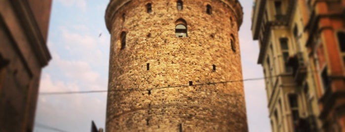 Torre de Gálata is one of İstanbul.