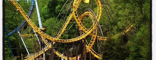 Busch Gardens Williamsburg is one of Tempat yang Disukai Bianca.