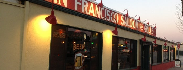 San Francisco Saloon is one of Orte, die Andrew gefallen.