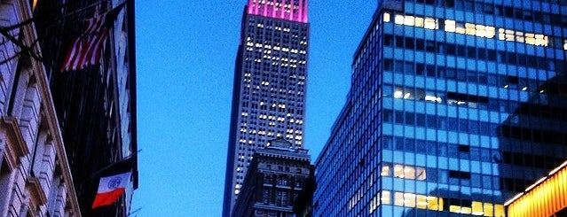 Empire State Building is one of Affinia Shelburne's Local Tips.