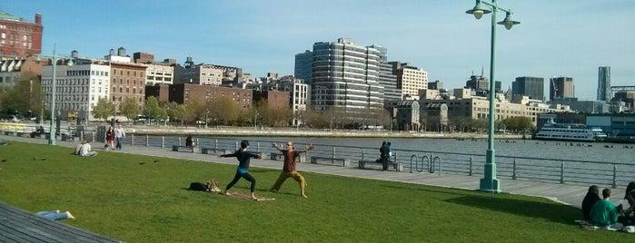 Hudson River Park is one of Best of New York (Manhattan + Brooklyn).