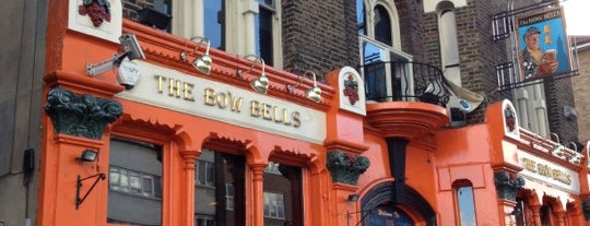 Bow Bells is one of Kim's London Favs & Wishlist.