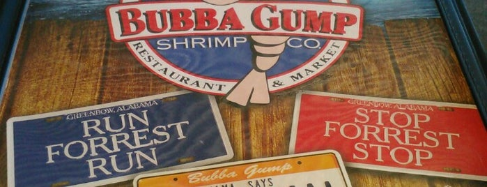 Bubba Gump Shrimp Co. Restaurant & Market is one of Locais salvos de Rita.