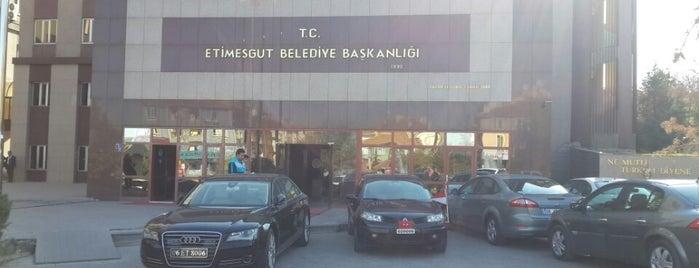 Etimesgut Belediye Başkanlığı is one of Posti salvati di Nazlı.
