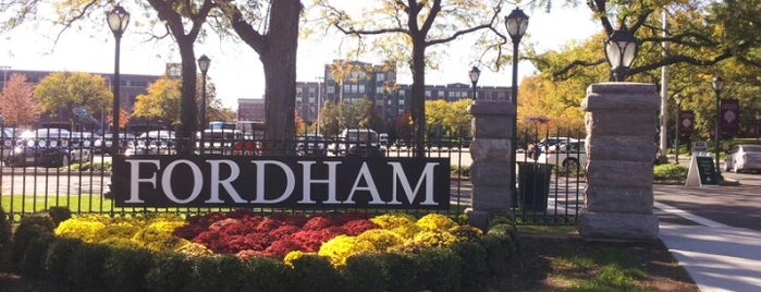 Fordham University - Rose Hill is one of Silicon Alley, NYC.