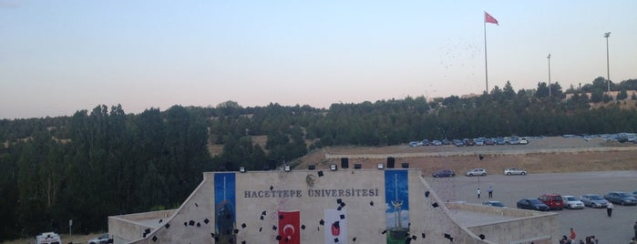 Hacettepe Amfi Tiyatro is one of Ankaram.