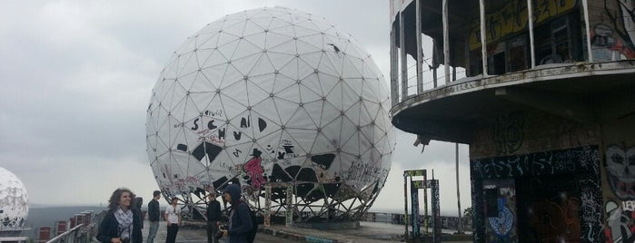 Teufelsberg is one of Berlin exploration.