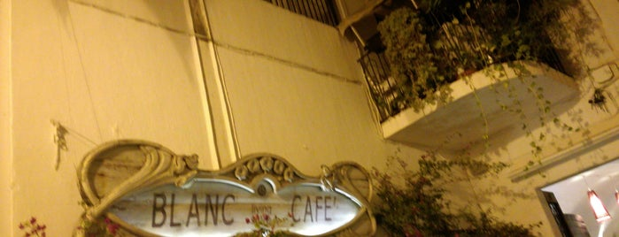 Cafe Blanc is one of B.